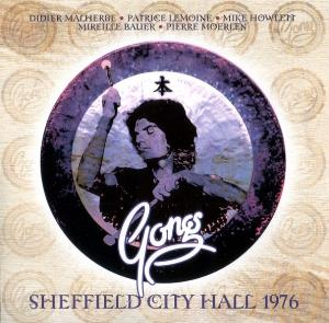 Gong Sheffield City Hall 1976 album cover