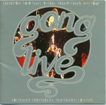 Gong - Gong Live, Etc CD (album) cover