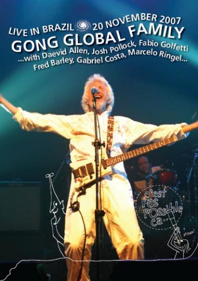 Gong - Live In Brazil: 20th November 2007 CD (album) cover