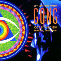 Gong 25th Birthday Party album cover