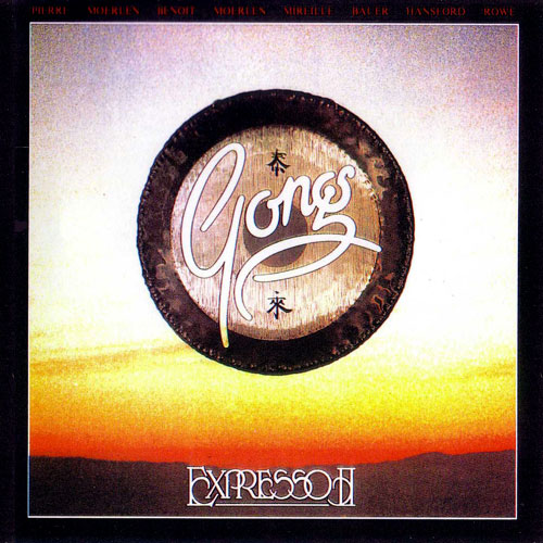 Gong - Expresso II CD (album) cover