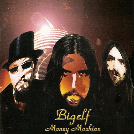 Bigelf Money Machine album cover