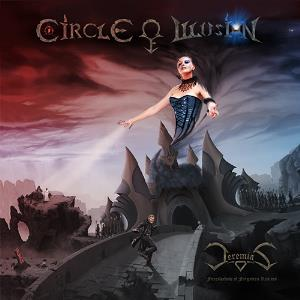 Circle of Illusion - Jeremias - Foreshadow of Forgotten Realms CD (album) cover