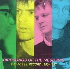 Birdsongs Of The Mesozoic - The Fossil Record (1980-1987) CD (album) cover