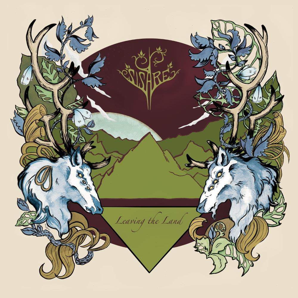 Leaving The Land by SISARE album cover