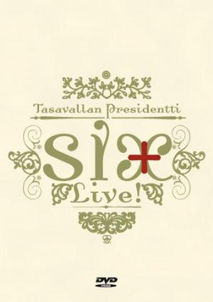 Tasavallan Presidentti - Six + Live! CD (album) cover