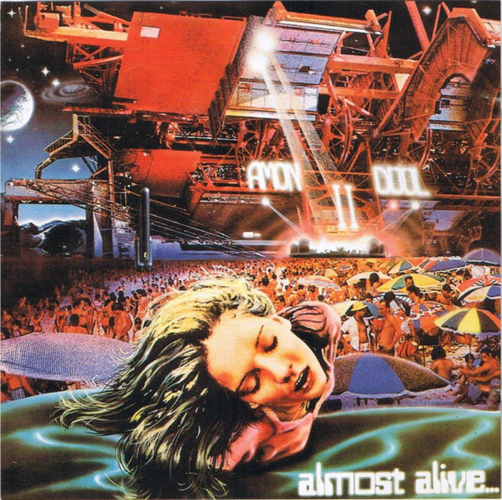 Amon Düül II - Almost Alive... CD (album) cover