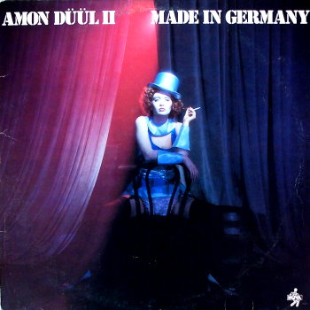Amon D��l II - Made in Germany (1 lp)  CD (album) cover