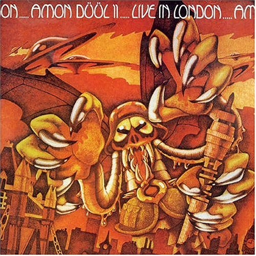 Amon Düül II Live in London album cover