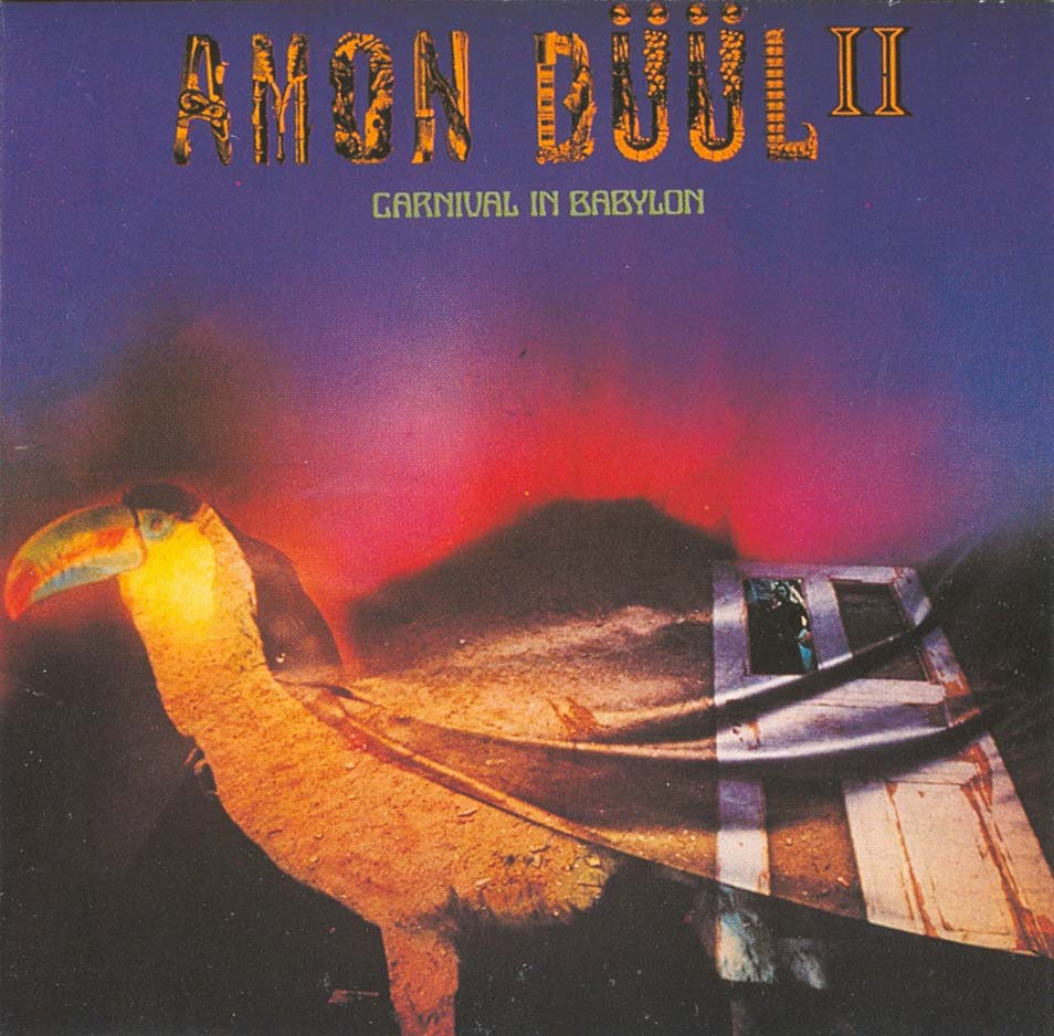 Amon D��l II - Carnival in Babylon CD (album) cover