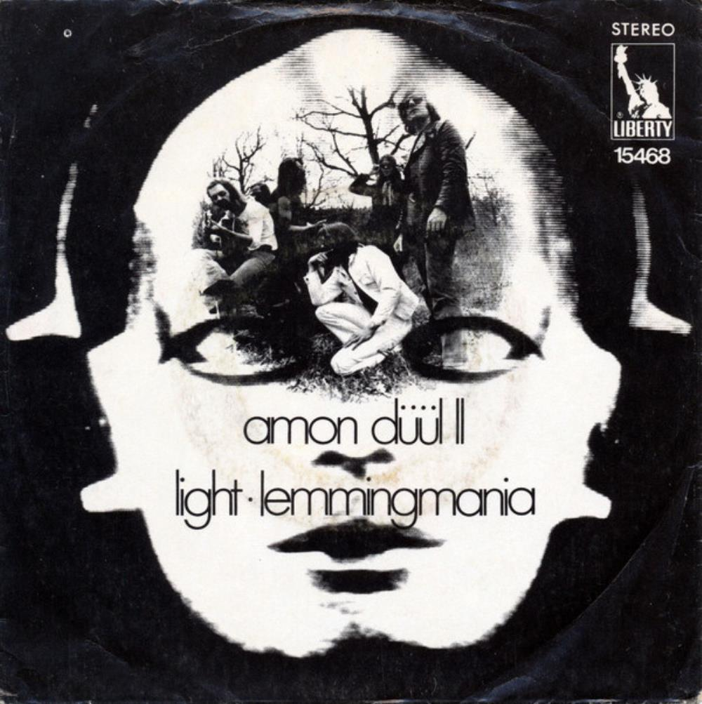 Amon Düül II - Light / Lemmingmania CD (album) cover