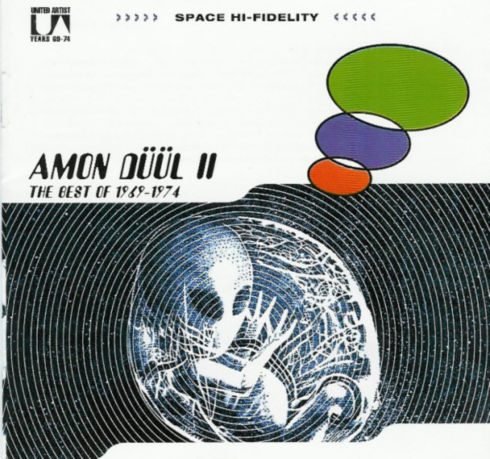 Amon Düül II The Best Of 1969-1974 album cover