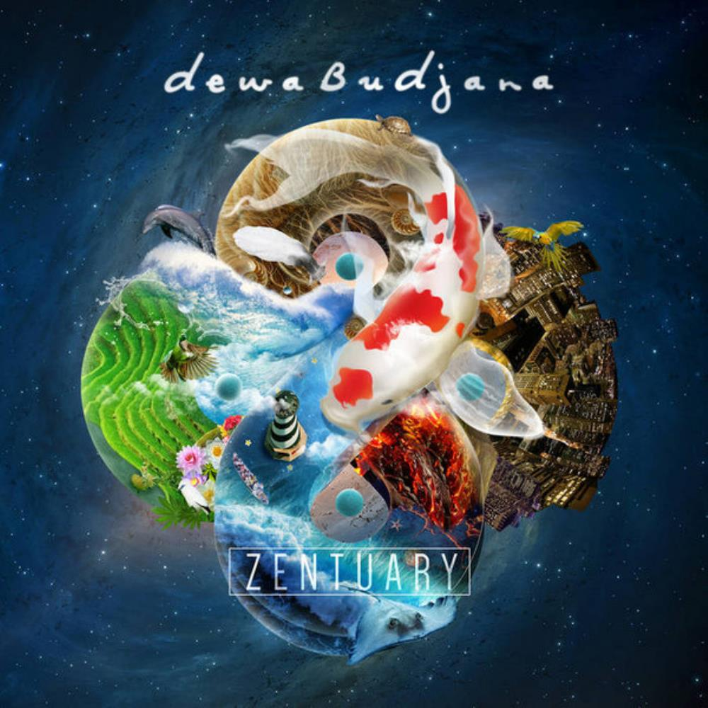 Dewa Budjana - Zentuary CD (album) cover