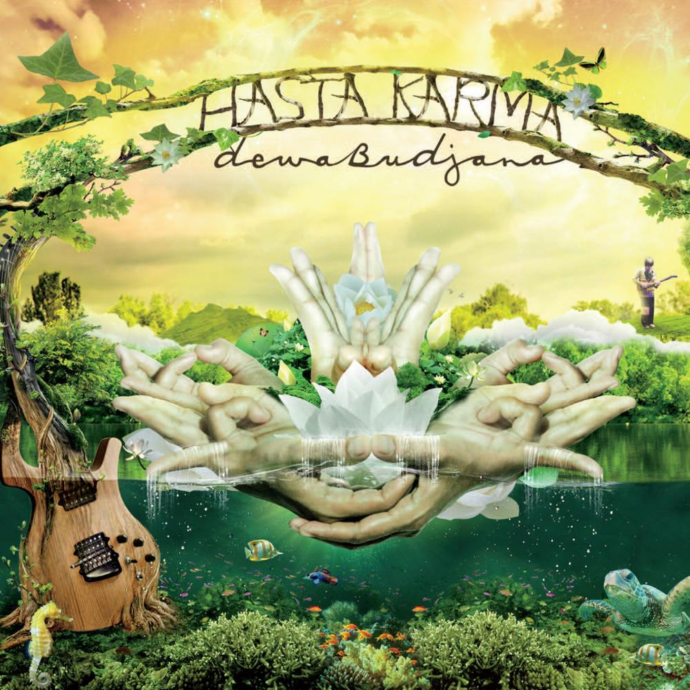 Dewa Budjana - Hasta Karma CD (album) cover