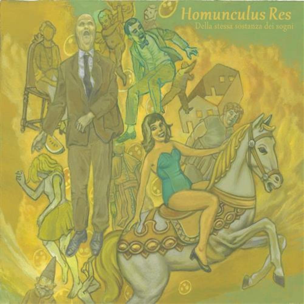 Della Stessa Sostanza dei Sogni by HOMUNCULUS RES album cover