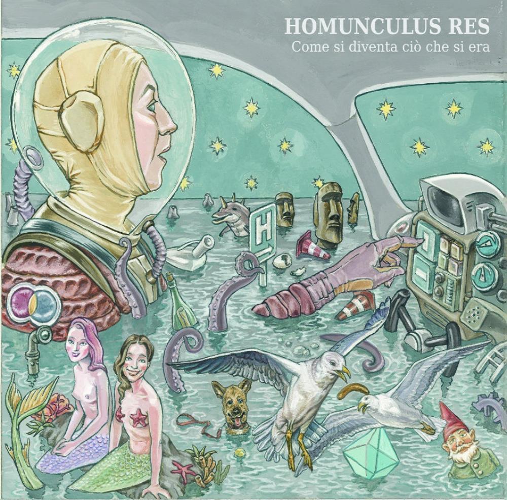 Come Si Diventa Ciò Che Si Era by HOMUNCULUS RES album cover