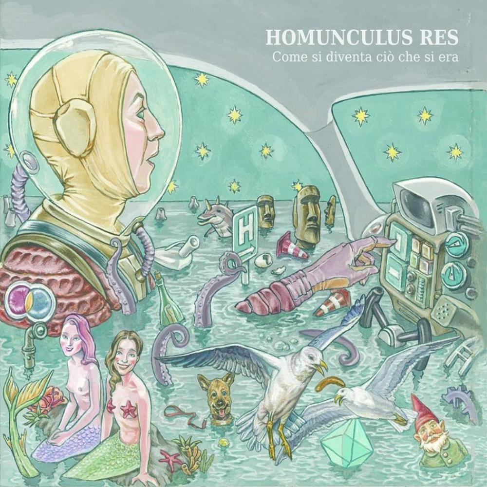 Come Si Diventa Ciò Che Si Era by HOMUNCULUS RES album cover