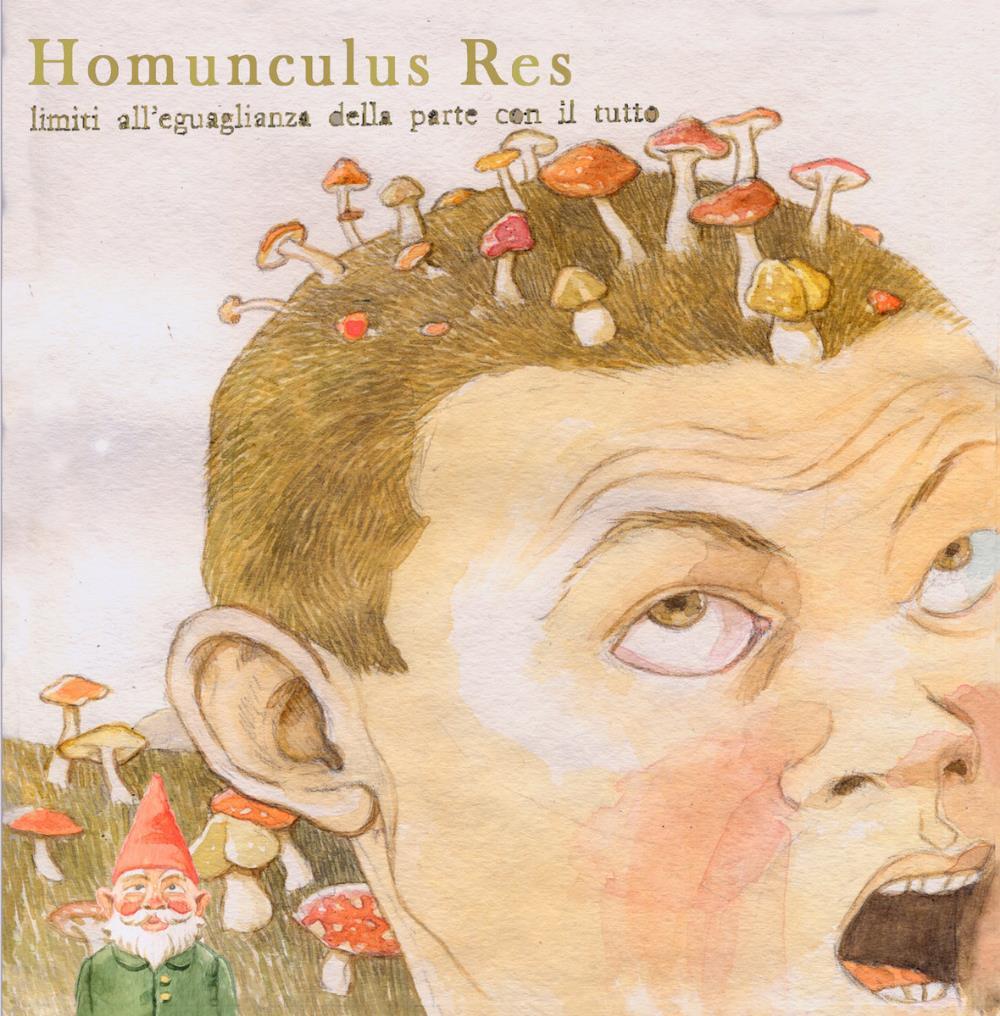 Limiti All'Eguaglianza Della Parte Con Il Tutto by HOMUNCULUS RES album cover