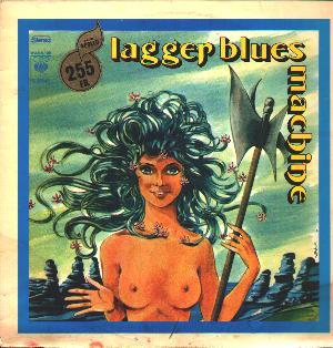 Lagger Blues Machine by LAGGER BLUES MACHINE album cover