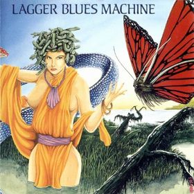 Lagger Blues Machine Tanit Live album cover