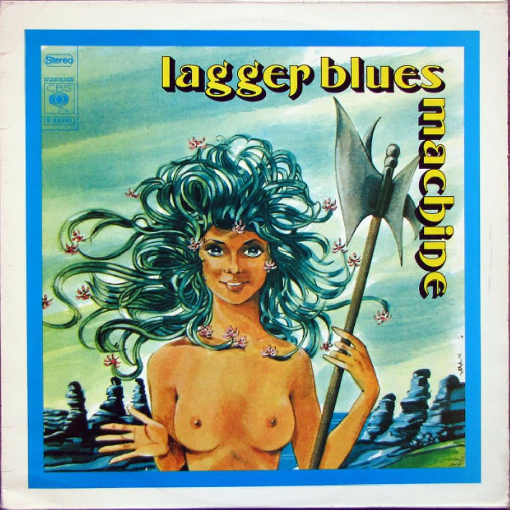 Lagger Blues Machine [Aka: Tanit] by LAGGER BLUES MACHINE album cover