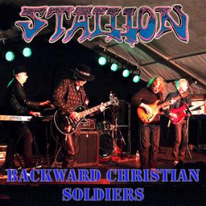 Stallion Backward Christian Soldiers album cover