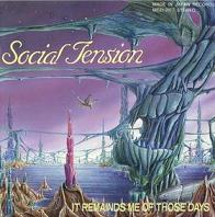 Social Tension - It Reminds Me of Those Days CD (album) cover