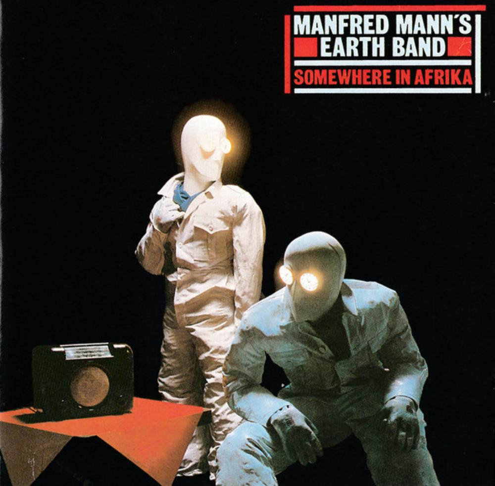 Manfred Mann's Earth Band Somewhere In Afrika album cover