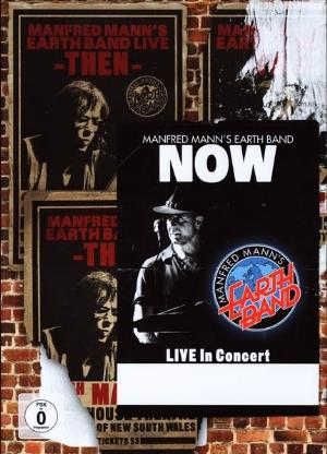 Then and Now by MANN'S EARTH BAND, MANFRED album cover