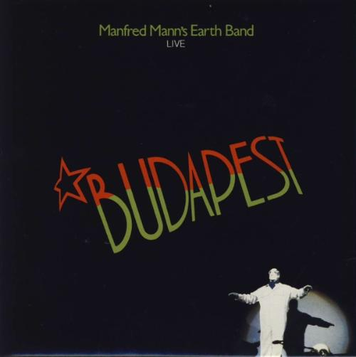 Manfred Mann's Earth Band Budapest Live album cover