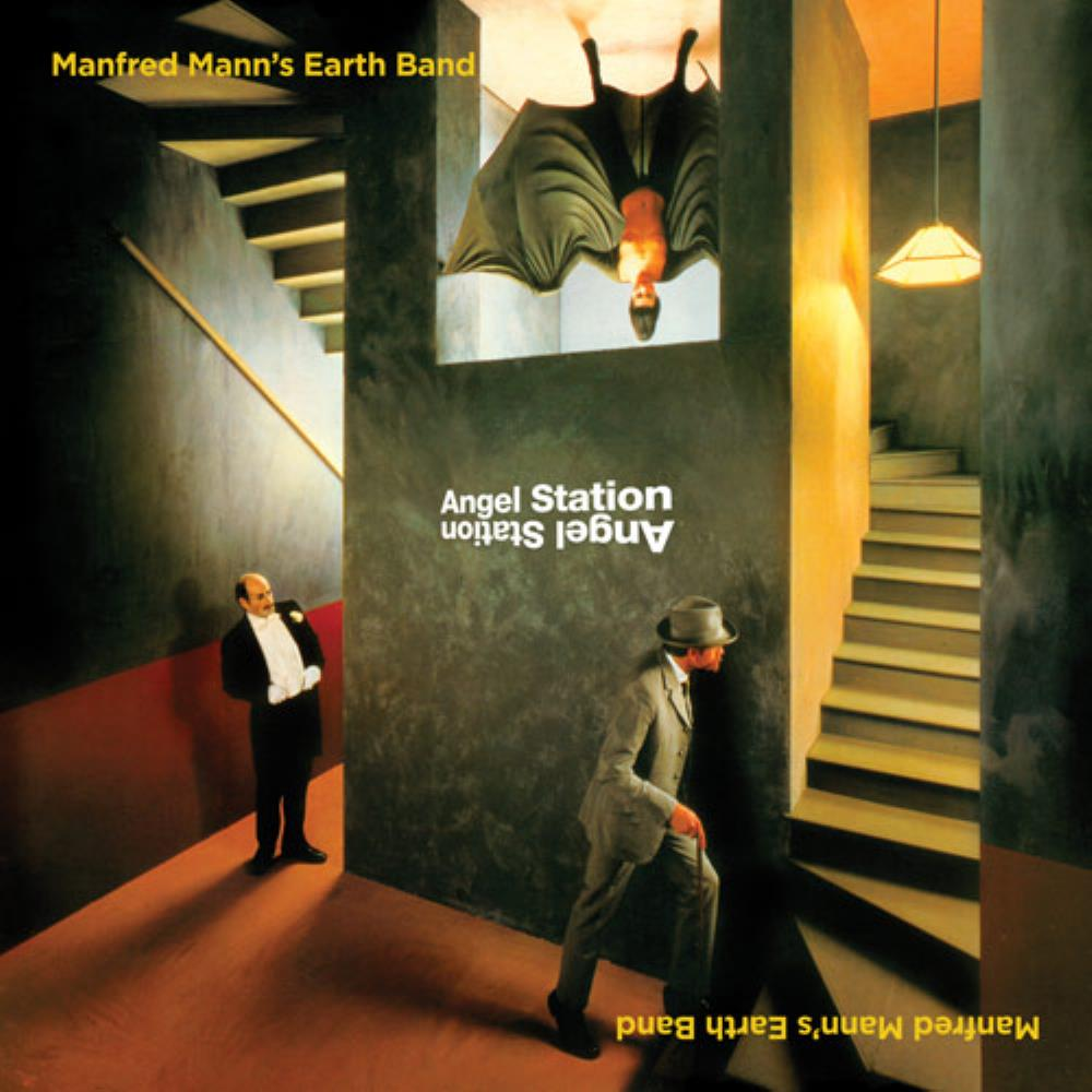 Manfred Mann's Earth Band Angel Station album cover