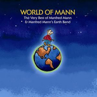 Manfred Mann's Earth Band - World Of Mann CD (album) cover