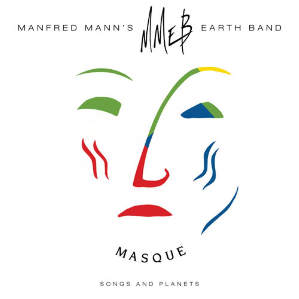 Manfred Mann's Earth Band - Masque - Songs And Planets CD (album) cover