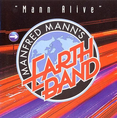 Manfred Mann's Earth Band Mann Alive album cover