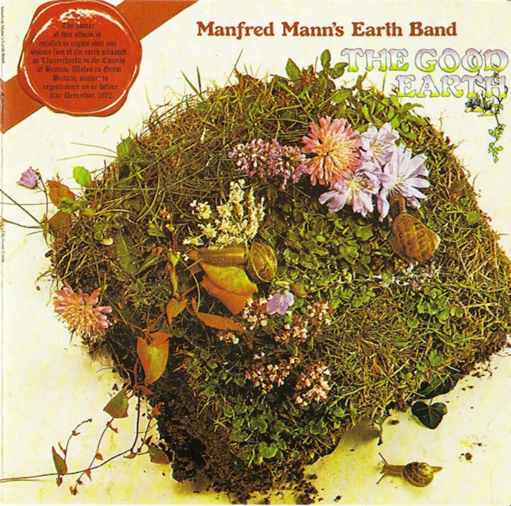 Manfred Mann's Earth Band - The Good Earth CD (album) cover