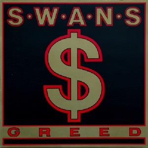 Swans - Greed CD (album) cover