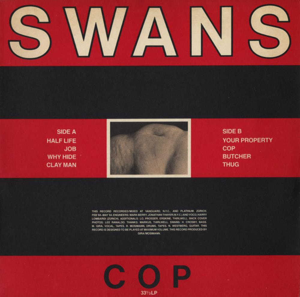 Cop by SWANS album cover