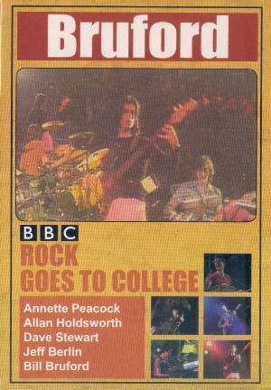 Bill Bruford BBC Rock Goes to College: Live 1979 album cover