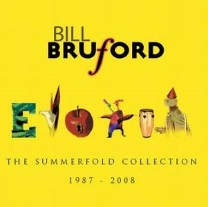 Bill Bruford The Summerfold Collection 1987 - 2008 album cover