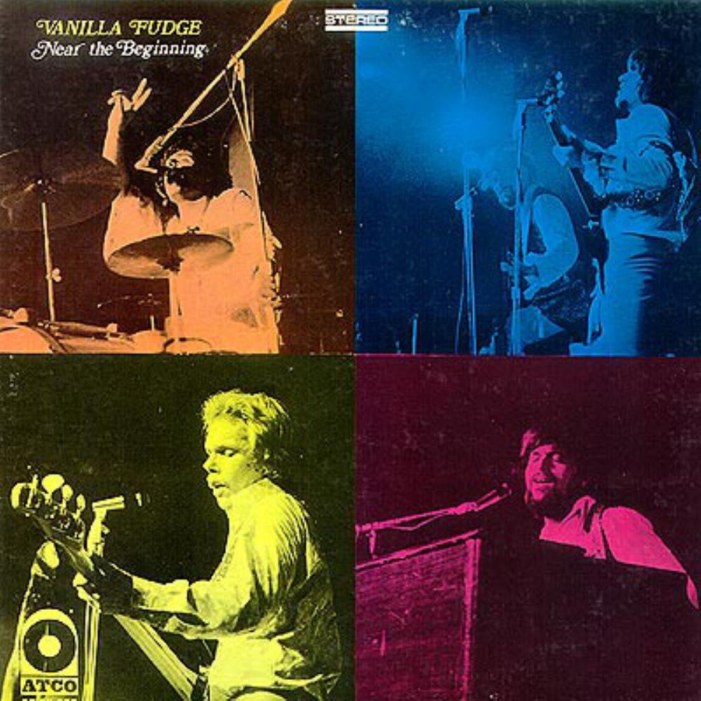 Near The Beginning by VANILLA FUDGE album cover