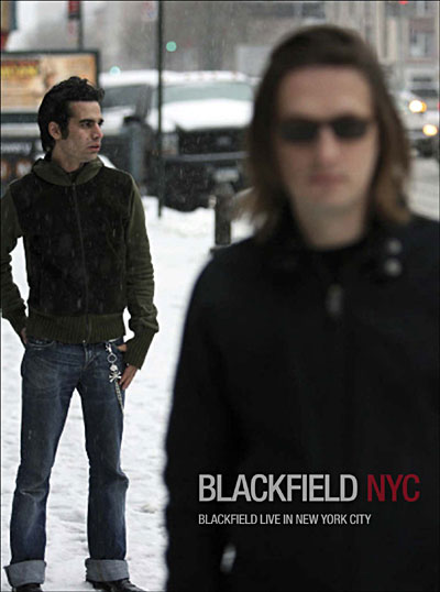 Blackfield - Blackfield: NYC - Live in New York City CD (album) cover