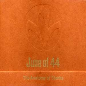 The Anatomy Of Sharks by JUNE OF 44 album cover