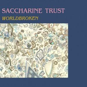 Worldbroken by SACCHARINE TRUST album cover
