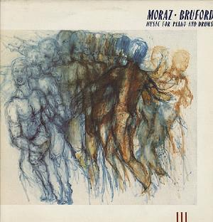 Moraz & Bruford - Music For Piano And Drums CD (album) cover