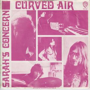 Curved Air - Sarah's Concern CD (album) cover