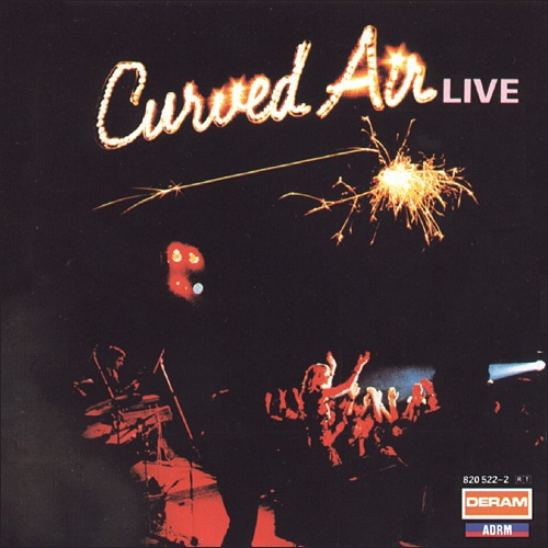Curved Air - Curved Air Live CD (album) cover