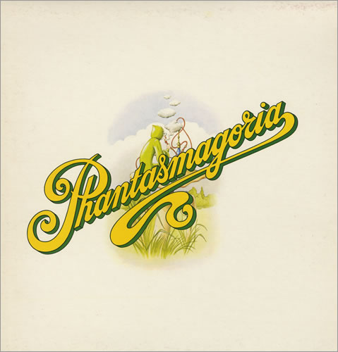 Curved Air - Phantasmagoria CD (album) cover