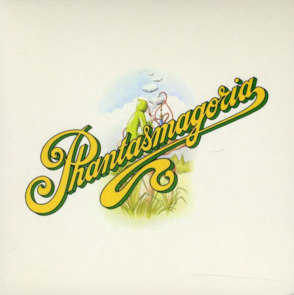 Phantasmagoria by CURVED AIR album cover