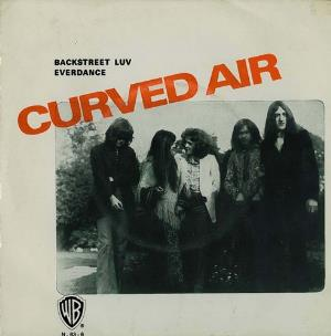 Back Street Luv by CURVED AIR album cover