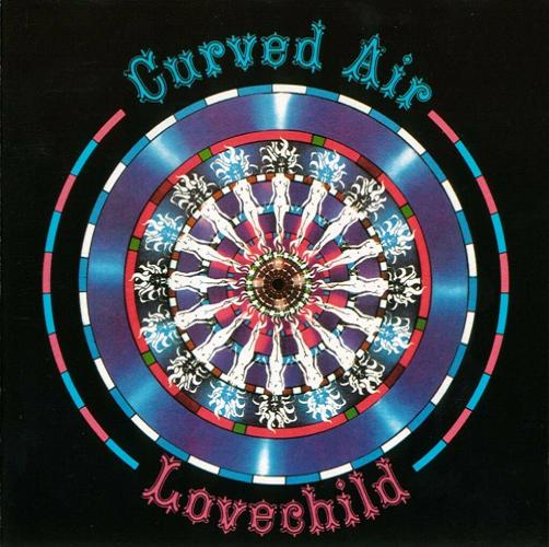 Curved Air - Lovechild CD (album) cover